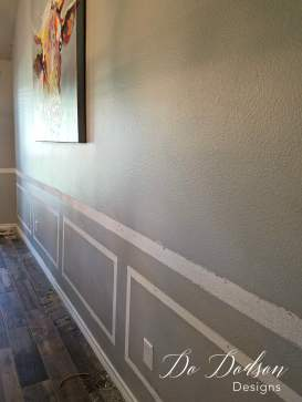 How to remove chair rail molding from a wall.