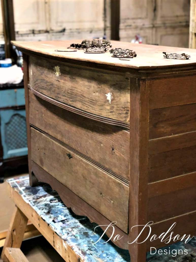 I salvage even the ugliest antique dresser with Wise Owl Paint. It's the blendable paint.