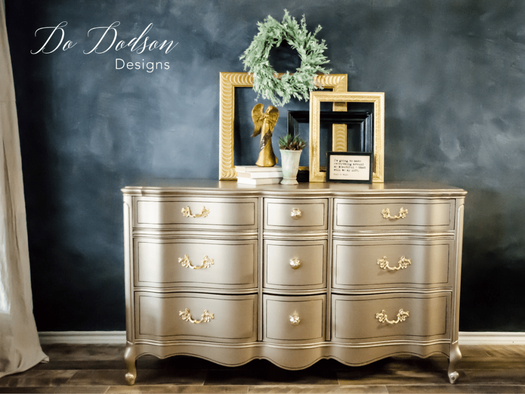 Superieur Warm Silver Metallic Paint Is A Dreamy Color With A Hint Of Gold.  #dododsondesigns