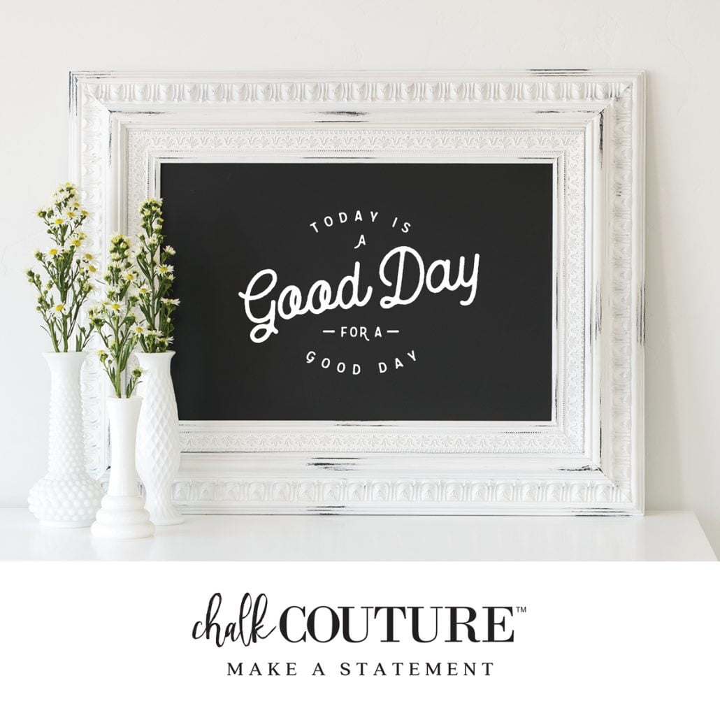 Make a statement with Chalk Couture. #chalkcouture #chalkpaste