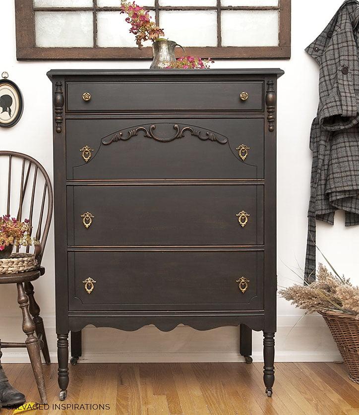 Painted Vintage Dresser Salvaged Inspirations Painted Vintage Dresser Chair Do Dodson Designs