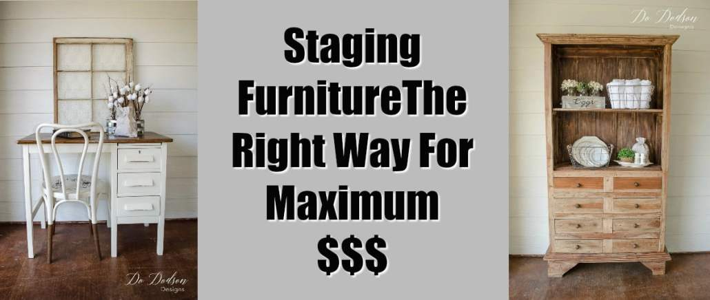Staging Furniture The Right Way For Maximum Profit Do Dodson