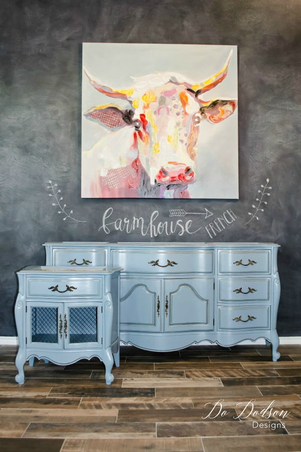 How To Get A Quick French Farmhouse Look With Paint