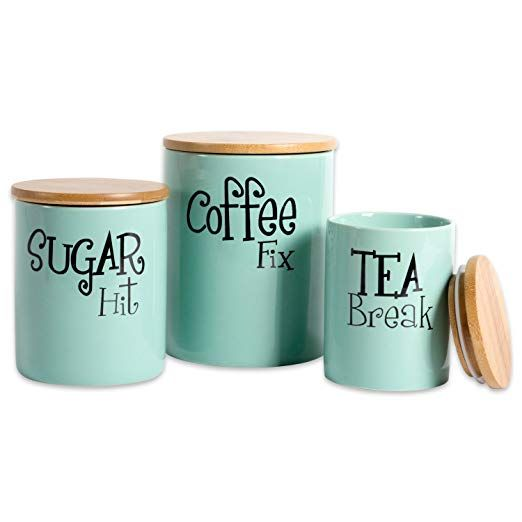 Kitchen Canistergift ideas for women that love all things coffee.