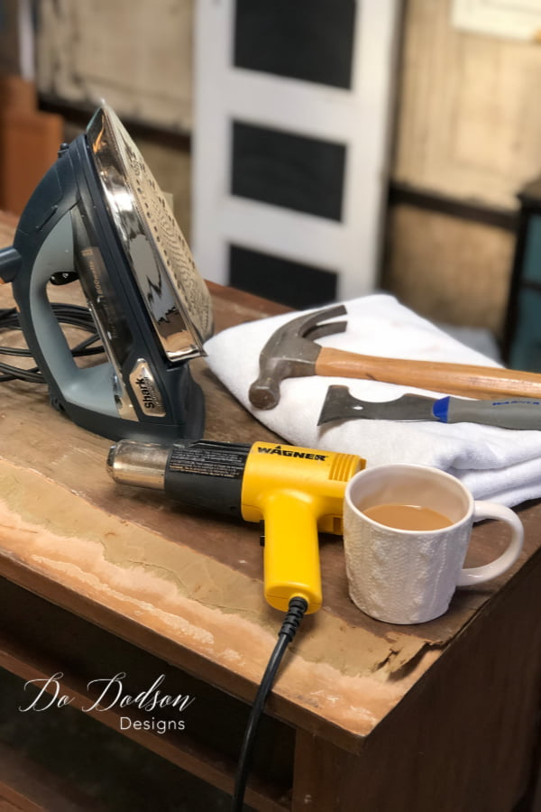 How to remove veneer the easy way with these tools.
