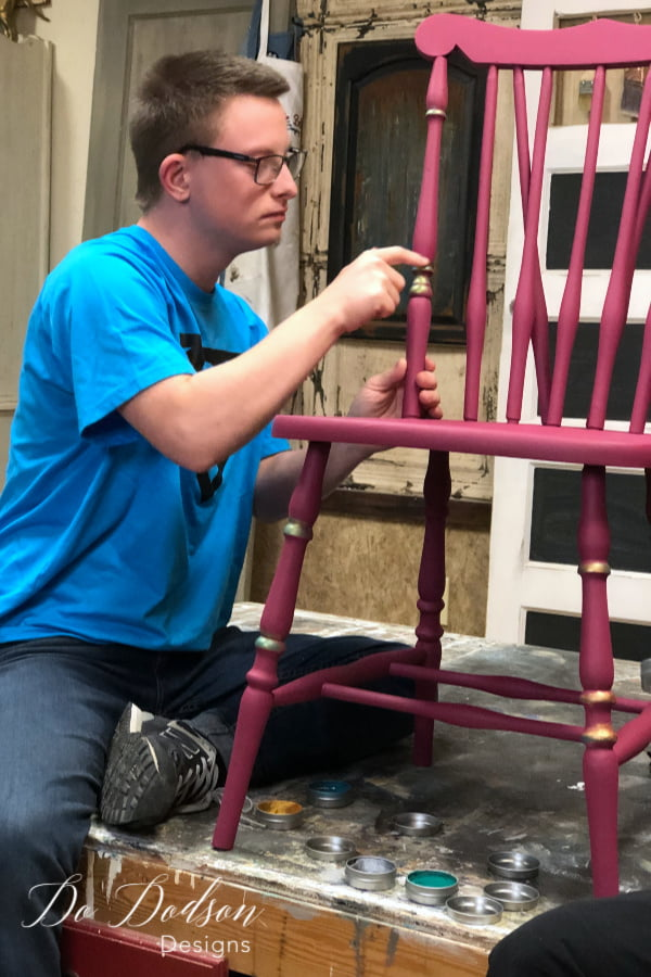 Painting Chairs with andyschairs.com