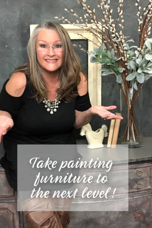 """Want to learn how to make even more money in your painting furniture business? Get my FREE COURSE """"How To Make More Money In Your Painting Furniture!"""""""