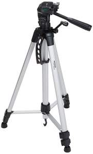 Tripods are a necessary piece of photography equipment when you need camera stability and are also great for holding the camera while videoing.