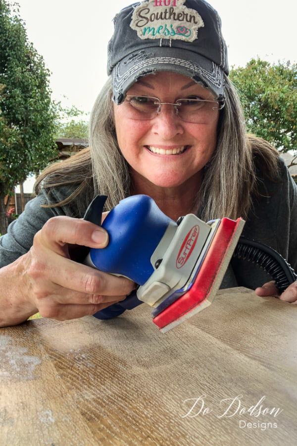 One tool, one project! Where have you been my sexy sanding machine?! Best Sanders ever!