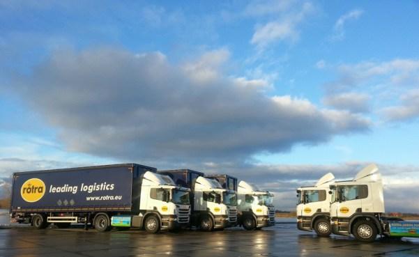 Rotra trucks op LNG