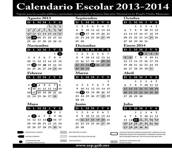 ACUERDO número 688 por el que se establece el calendario