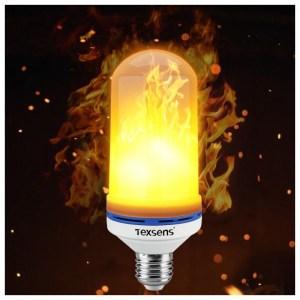 Texsens flame lamp