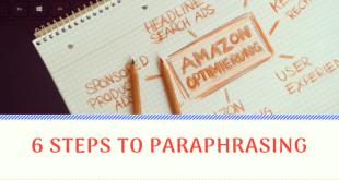 6 Steps To Paraphrasing