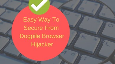 Easy Way To Secure From Dogpile Browser Hijacker