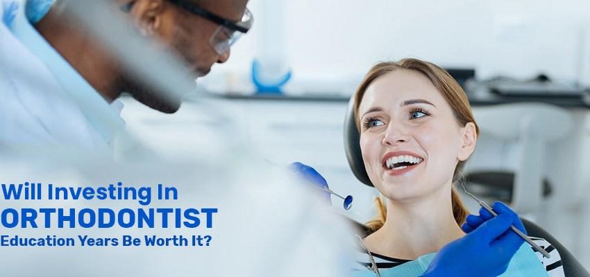 orthodontist education years