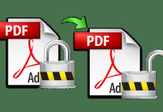 unprotect pdf documents