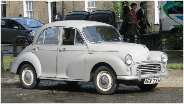 Richard Branson - Morris Minor