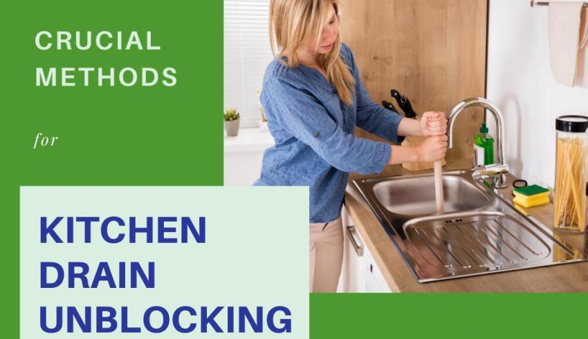 Methods of Kitchen Drain Unblocking