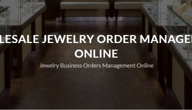 B2B Jewelry business management