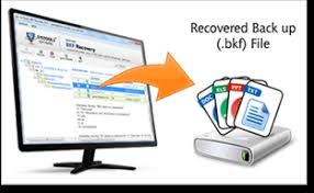 how to repair corrupt bkf file