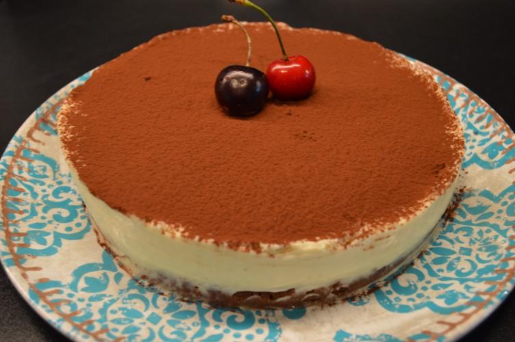 Torta trufada de mascarpone