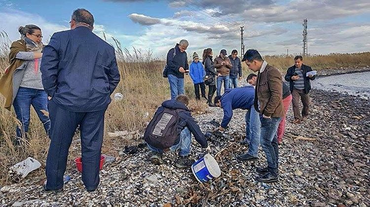 Oil Spill Threatens Marine and Coastal Biodiversity in Izmit Bayhellip