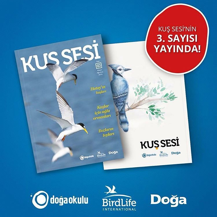 The third issue of Kus Sesi is released Dogas bulletinhellip
