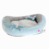Pretty Pet Bling Bling Bed in Blue - Dogaholic