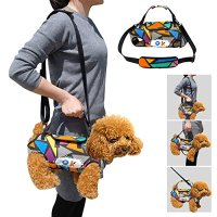 PET ARTIST Multifunctional Pet Carrier for Dog Cat, Pet Sling Carrier, Travel Bag Fit for Small Pets