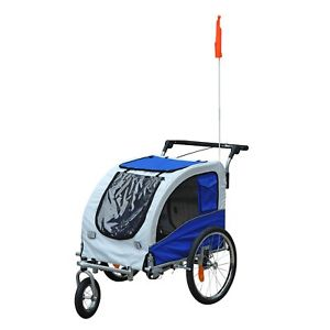 Aosom Elite II Pet Dog Bike Bicycle Trailer
