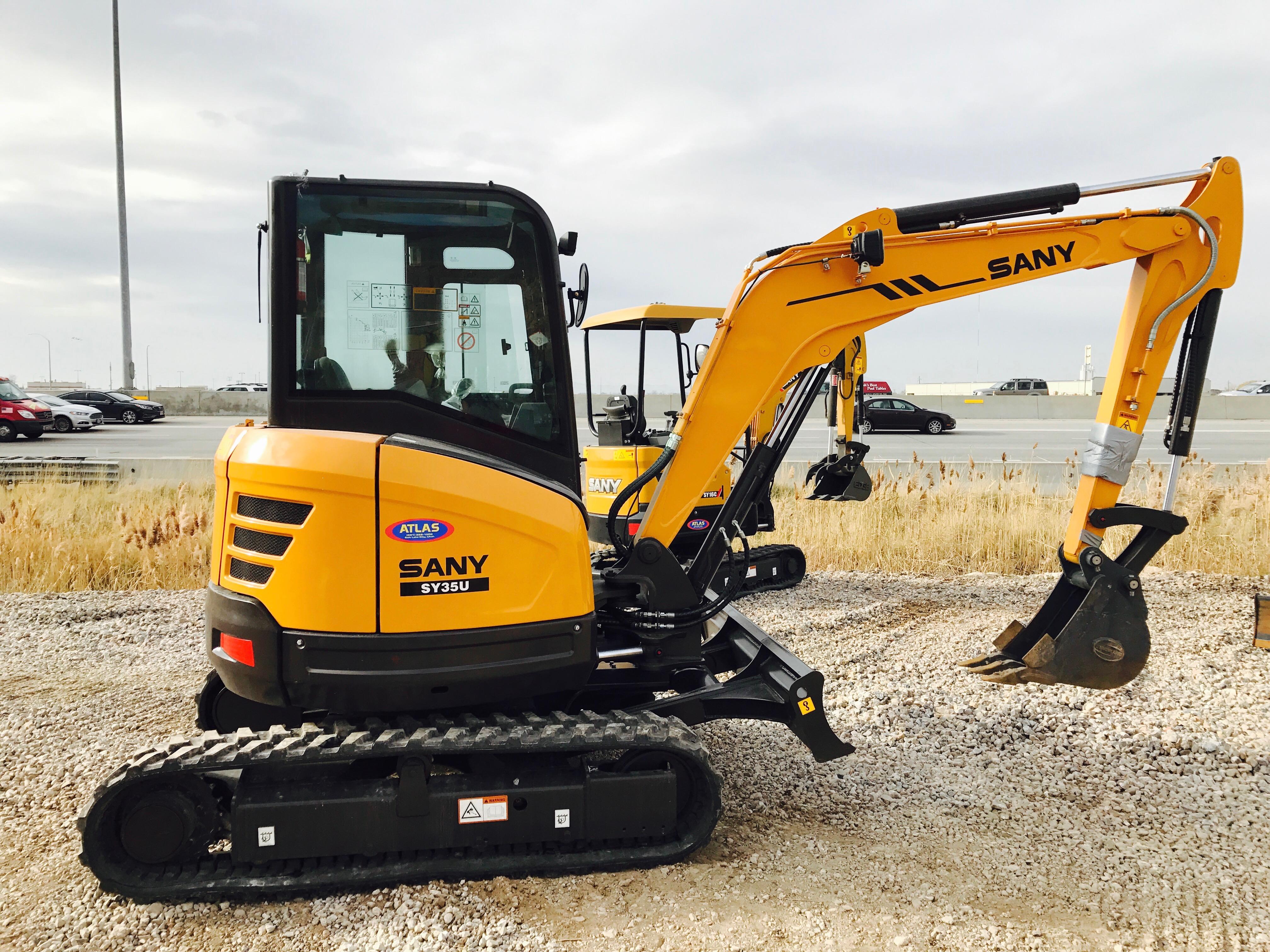 SY35U Mini Excavator : Dogface Heavy Equipment Sales
