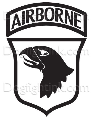 101st airborne bastogne logo 101st Combat Veteran