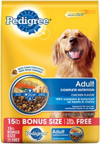 Pedigree Dog Food Recall