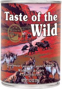 Taste of the Wild Southwest Canyon Canned Wet Grain-Free Dog Food