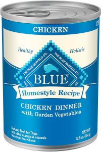 Blue Buffalo Homestyle Recipes Chicken Dinner