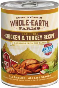 Whole Earth Farms Chicken and Turkey Stew