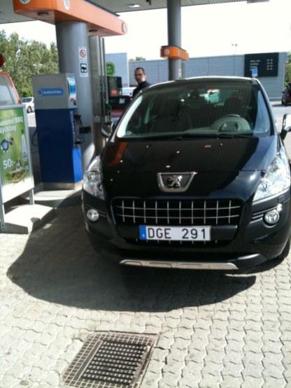 Nya bilen har kommit hem!
