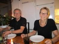 Vi hälsade på Conny och Kerstin i Varberg på hemvägen.