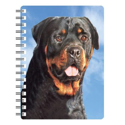 030717115761 3D Notebook Rottweiler 1