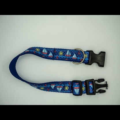Blue Ocean Waves Collar