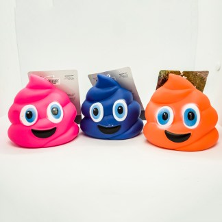Pets That Play - squeaky poo emojis fun play toys.