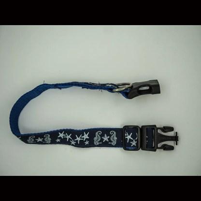 Seahorses and Starfish Collar