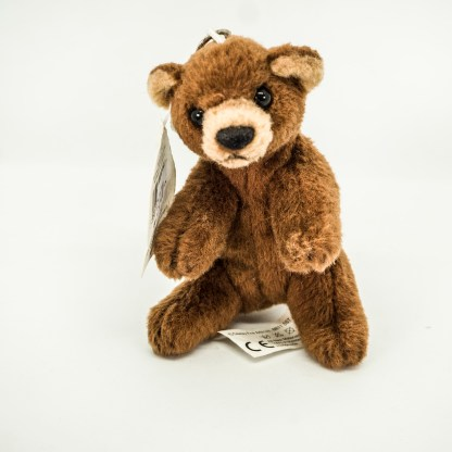 Bear Brown Hanging Mini Cuddly