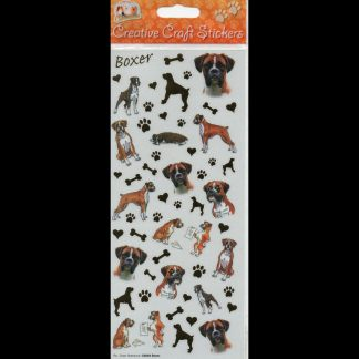 Boxer Creative Craft Stickers