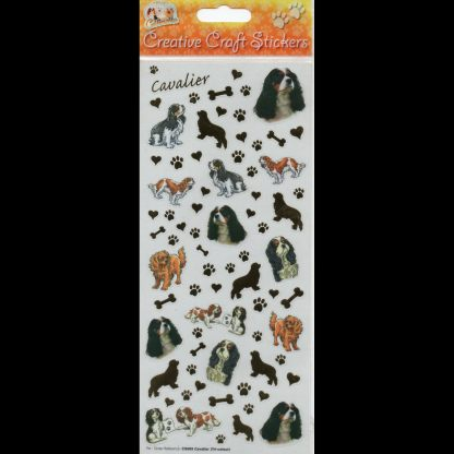 Cavalier Tri-Colour Creative Craft Stickers