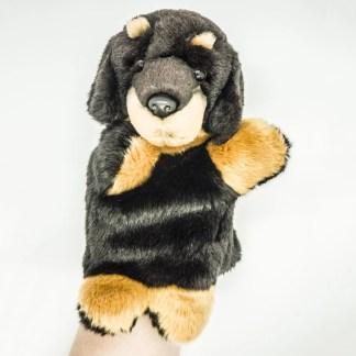 Rottweiler Glove Puppet
