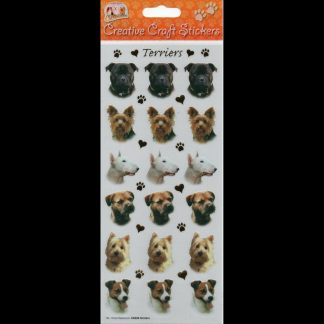 Terriers Creative Craft Stickers