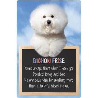 030717117154: 3D Hangable Verse Bichon Frise