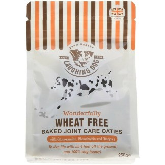 Laughing Dog Baked Joint Care Oaties Healthy Wheat Free Dog Biscuits