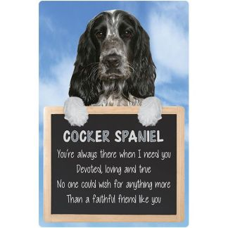 030717117253: 3D Hangable Verse Cocker Spaniel